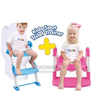 Portable Training Kids Toilet Blue -Baby Potty With Ladder | Baby & Child Care for sale in Nairobi, Nairobi Central