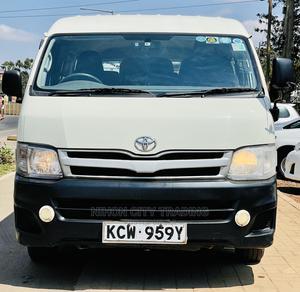 2012 TOYOTA HIACE QUANTUM 2700cc Automatic Petrol | Buses & Microbuses for sale in Nairobi, Kilimani