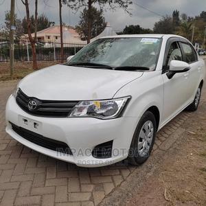 Toyota Axio 2014 White   Cars for sale in Nairobi, Ridgeways