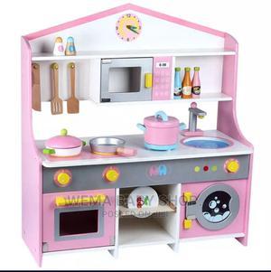 Kids Wooden Pretend Kitchen Set   Toys for sale in Nairobi, Nairobi Central