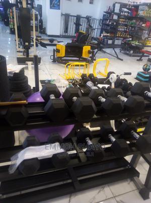Hex Dumbbells   Sports Equipment for sale in Nairobi, Ngara