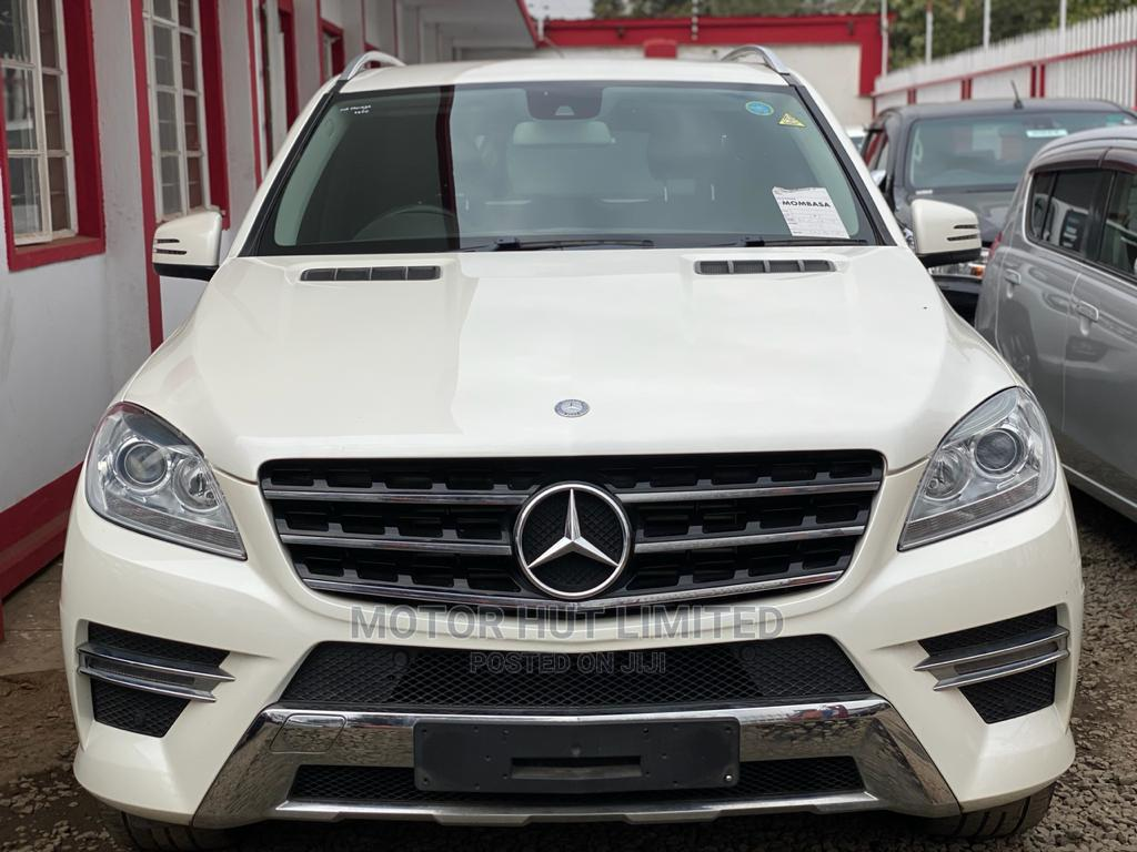 Mercedes-Benz M Class 2014 White | Cars for sale in Kilimani, Nairobi, Kenya