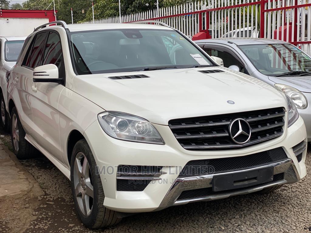 Mercedes-Benz M Class 2014 White