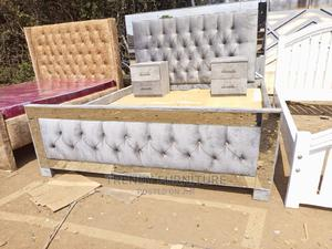 5*6 Mirrored Chester Beds With Sidedrawers   Furniture for sale in Nairobi, Kahawa