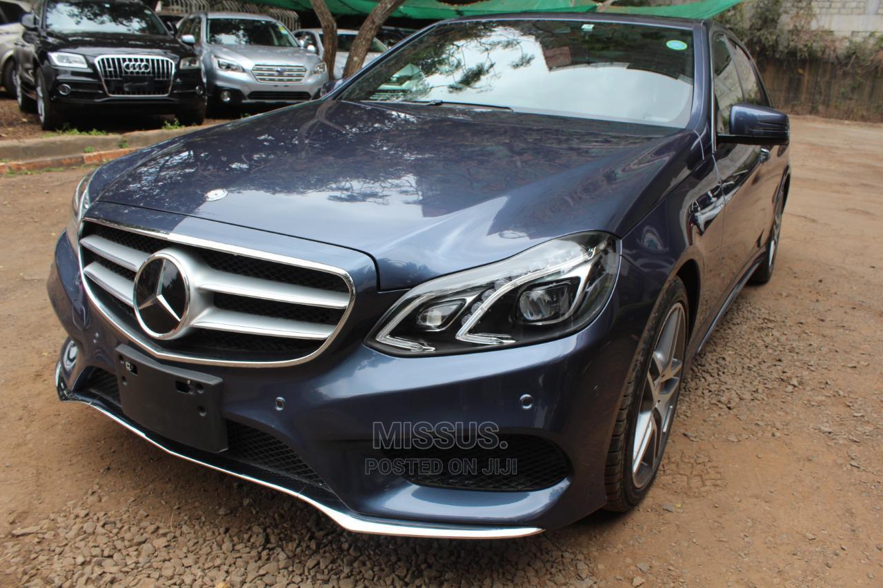 Mercedes-Benz E250 2013 Blue