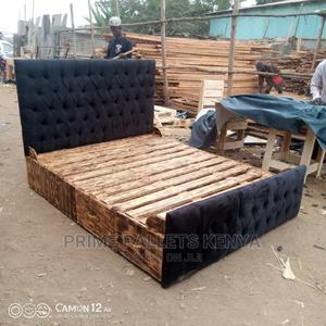 5*6 Chester Headboard Bed | Furniture for sale in Nairobi, Embakasi