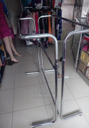 Adjustable Clothes Display Rack With Double Rails | Furniture for sale in Nairobi, Nairobi Central