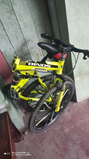 Foldable Mountain Chimano Equipped Bicycle Size 26 | Sports Equipment for sale in Kilifi, Kilifi Town