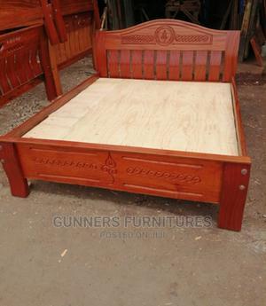 Mahogany Beds 5*6.   Furniture for sale in Nairobi, Nairobi Central