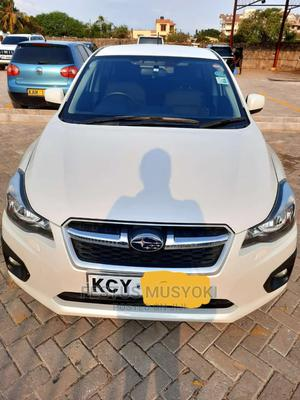 Subaru Impreza 2013 White | Cars for sale in Mombasa, Mombasa CBD