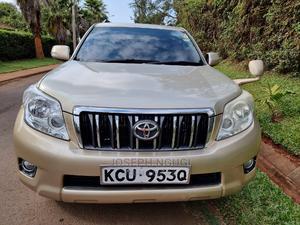 Toyota Land Cruiser Prado 2012 Gold   Cars for sale in Nairobi, Nairobi Central