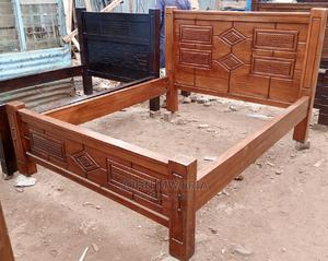 5*6ft Mahogany Bed | Furniture for sale in Nairobi, Dagoretti