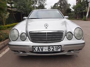 Mercedes-Benz E200 2000 Silver   Cars for sale in Nairobi, Karen