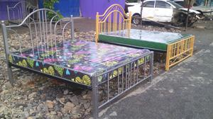Single Metal Beds 5×6   Furniture for sale in Nairobi, Maringo/Hamza