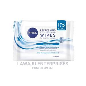Nivea Refreshing Cleansing Wipes- 25 Wipes | Skin Care for sale in Nairobi, Nairobi Central