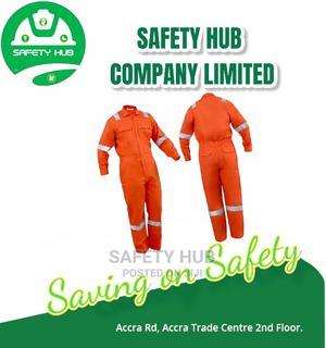 Orange Best Fabric Reflective Overall   Safetywear & Equipment for sale in Nairobi, Nairobi Central