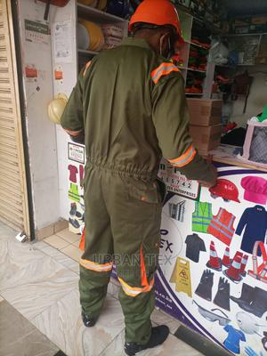 New Jungle Green Overall With Reflector Strips | Safetywear & Equipment for sale in Nairobi, Nairobi Central