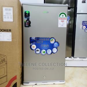 Mika Fridge 92l Single Door,Silver Brush,Direct Cool | Kitchen Appliances for sale in Nairobi, Nairobi Central