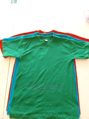 Kids and Adult T Shirts 100%Cotton All Colours Available   Clothing for sale in Nairobi, Nairobi Central