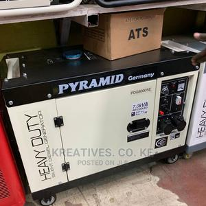 Pyramid 7kva Silent Diesel Generator With ATS   Electrical Equipment for sale in Nairobi, Nairobi Central