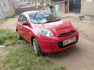 Nissan March 2011 Red | Cars for sale in Nairobi, Kasarani