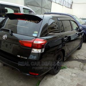 Toyota Fielder 2015 Black | Cars for sale in Mombasa, Tudor