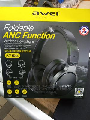 Awei A710BL ANC Noise Cancelling Headphone | Headphones for sale in Nairobi, Nairobi Central
