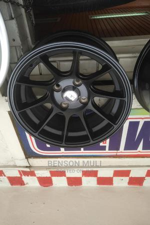 Rims SIZE (14) Off Set. Black | Vehicle Parts & Accessories for sale in Nairobi, Nairobi Central