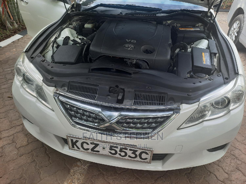 Toyota Mark X 2012 White   Cars for sale in Westlands, Nairobi, Kenya