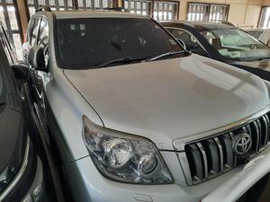Toyota Land Cruiser Prado 2010 Silver | Cars for sale in Mombasa, Mombasa CBD