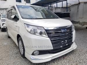 Toyota Noah 2015 1.8 FWD Hybrid (7 Seater) White | Cars for sale in Mombasa, Mvita