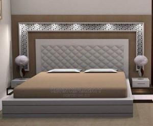 Modern King Size Bed | Furniture for sale in Nairobi, Westlands