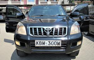 Toyota Land Cruiser Prado 2006 Black | Cars for sale in Mombasa, Tudor