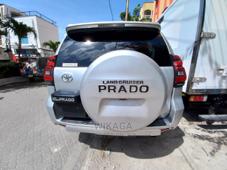Toyota Land Cruiser Prado 2014 Silver   Cars for sale in Mombasa CBD, Mombasa, Kenya