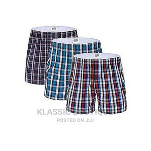 3 in 1 Quality Men Checked Boxer Short M, L, XL,2XL Ksh 1000 | Clothing for sale in Nairobi, Nairobi Central