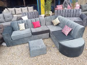 L Seat Sofa With Footrest | Furniture for sale in Nairobi, Kahawa