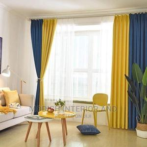 Yellow and Blue Curtains | Home Accessories for sale in Nairobi, Nairobi Central