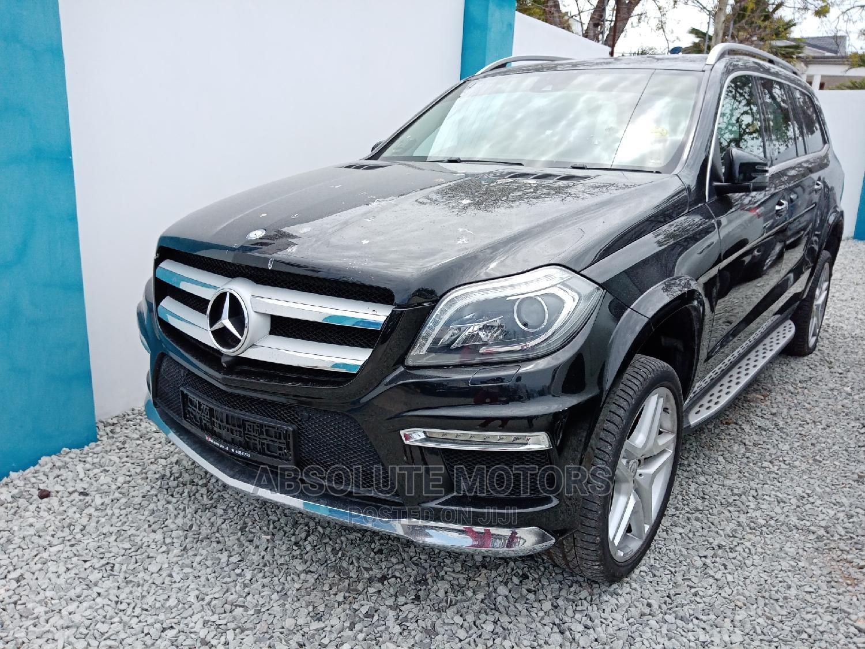 Mercedes-Benz GL-Class 2014 Black