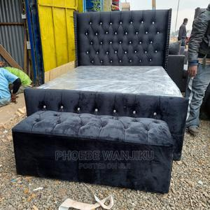 Chester Bed 5 by 6+ Ottoman | Furniture for sale in Nairobi, Kahawa