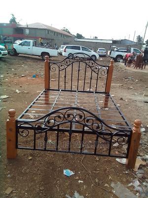 Modern 5 by 6 Metallic Bed   Furniture for sale in Nairobi, Dagoretti
