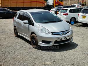 Honda Fit 2012 Silver   Cars for sale in Nairobi, Nairobi Central