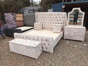 6/6 Bed/Dressingmirror/Ottonman/ Side Drawers   Furniture for sale in Nairobi, Kahawa
