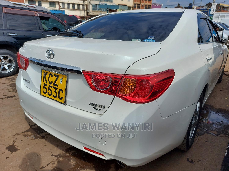 Toyota Mark X 2013 White   Cars for sale in Nairobi Central, Nairobi, Kenya
