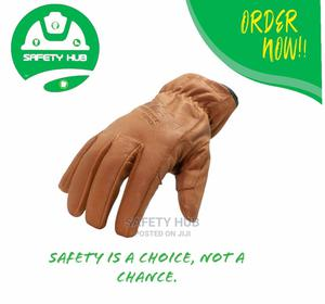 Brown Quality Leather Safety Gloves | Safetywear & Equipment for sale in Nairobi, Nairobi Central