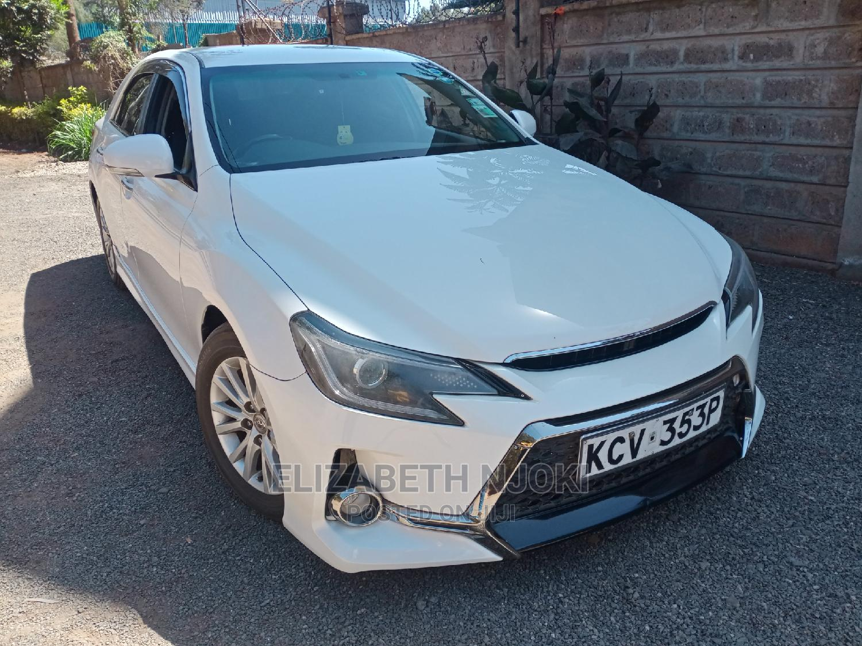 Toyota Mark X 2012 White | Cars for sale in Ridgeways, Nairobi, Kenya