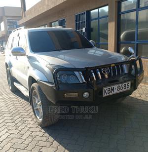 Toyota Land Cruiser Prado 2003 3.4 5dr Silver   Cars for sale in Nairobi, Nairobi South