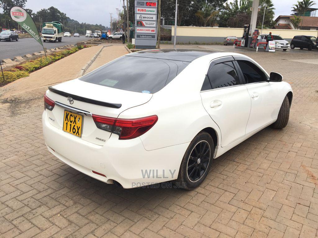Toyota Mark X 2012 White   Cars for sale in Karen, Nairobi, Kenya