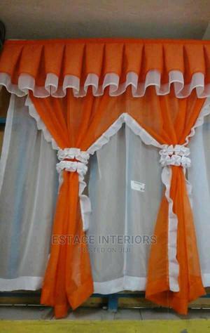 Orange Kitchen Curtains | Home Accessories for sale in Mombasa, Kisauni