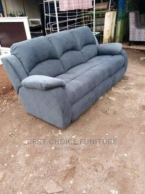 3 Seaters Contemporary Luxury Sofa With Recliner Replication   Furniture for sale in Nairobi, Kahawa
