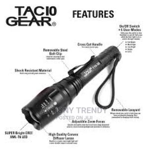 Military Grade Tactical LED CREE XML T6 3000 Lumens 5 Mode   Camping Gear for sale in Nairobi, Nairobi Central